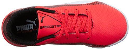 Puma evoSPEED Star S Jr Skate Shoe Red Blast/White/Black