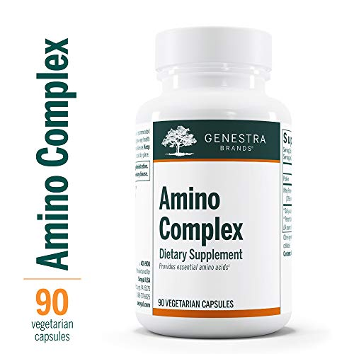 Genestra Brands - Amino Complex - Vegetarian Amino Acid Supplement - 90 Capsules