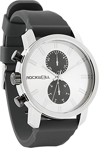 Rockwell Time Men's Apollo Watch, Silver/Gunmetal by Rockwell Time (Image #1)
