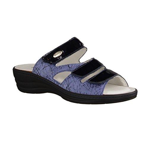 Slowlies Blue Size up Lace Women's Uk Flats 5 IxgrIn