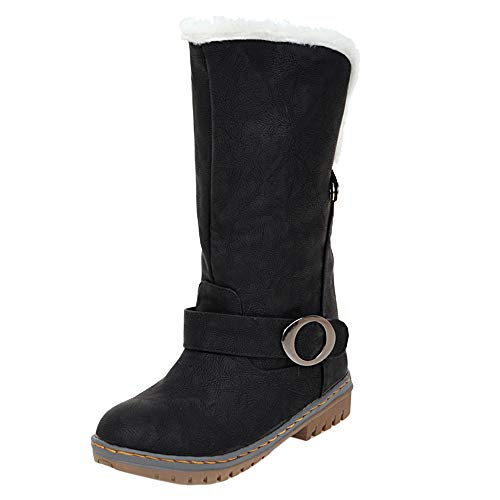 Low Women Half Leisure Black Boots Coolcept Heel qzwgxESS