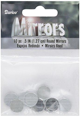 Round Glass Mirror 1/2-10/Pkg