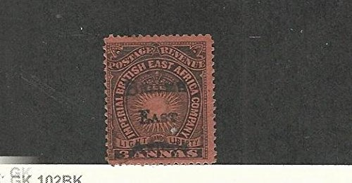 British East Africa, Postage Stamp, 42 Used, 1895