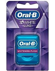 Oral-B 3D White Muntsmaak, Luxe Flosdraad, Whitening Flos, 35 Meter
