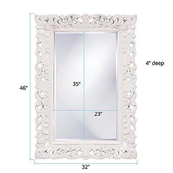 Howard Elliott 2020W Barcelona Mirror, Glossy White