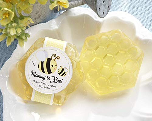 Honey Bee Wedding - Kate Aspen Mommy to Bee Honey-Scented Honeycomb Soap, Perfect Wedding Favor, Bachelorette Favor or Bridal Shower Favor - 12 Units
