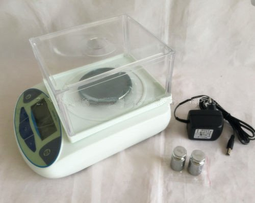 Galleon - 100 X 0.001g Lab Digital Analytical Balance ...