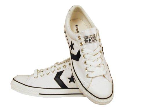 Converse , Herren Sneaker weiß White Black media