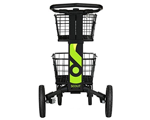Compact Utility Adjustable Cart (Scout Cart SCV1 All Purpose Folding Cart)