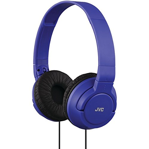 JVC HAS180A The Amazing On-Ear Headphones, Blue