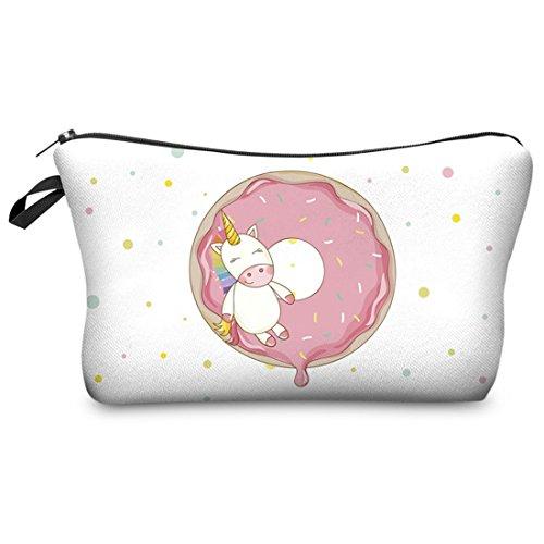 Dunland trousse and l'eau Womens 3D La Handbags Purses Ladies Multicolore2 à imperméable Designer Licorne rRfWEqr6P