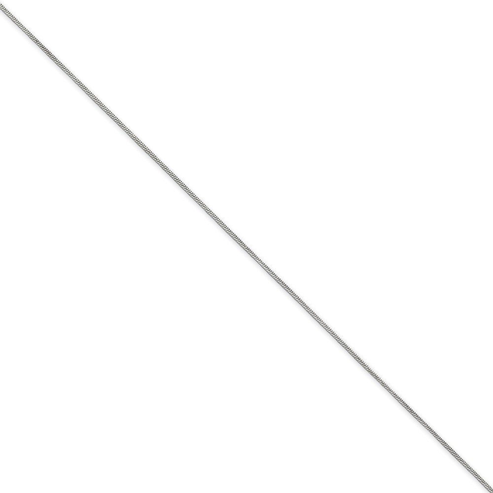 Sterling Silver .7mm Round Snake Chain