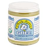 Purity Organic Ghee Clarified Butter 7.5 OZ (Pack of 24)