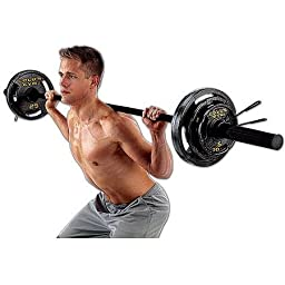 Gold\'s Gym Olympic Weight Set, 110 Lbs