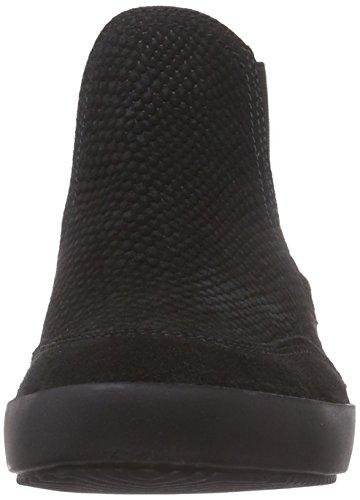 Tamaris25849 - botines chelsea mujer negro - Schwarz (Black/Blk Pat 086)