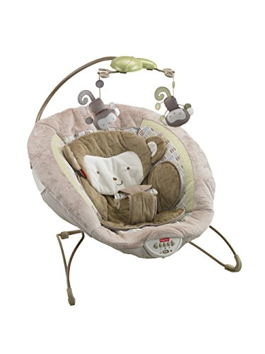 Fisher-Price My Little SnugaMonkey Deluxe Bouncer For Sale