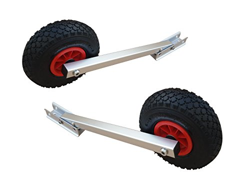 Brocraft Boat Launching Wheels / Boat Launching Dolly with 12 Inch Wheels ()