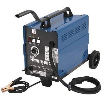 Chicago Electric Mig 151 Welding 230V 120AMP Flux Wire Welder 26kg