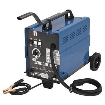 Chicago Electric Mig 151 Welding 230V 120AMP Flux Wire Welder 26kg - - Amazon.com