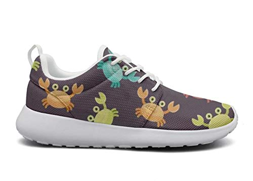 Crab Palyful Running Palyful Training Colorful 1 Crab Shoes lsawdas Shoes Colorful Funny Women IP6Avxqw