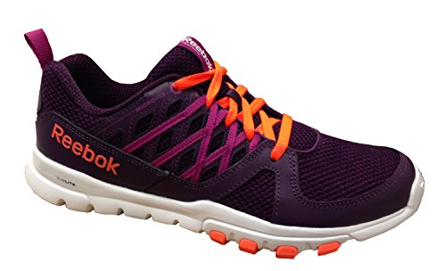 Reebok New Women's Sublite Train RS 2.0 L Training Shoe Orchid/Fuchsia/Orange/White 5 Review