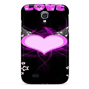 AniamlCaseZone Perfect Tpu Case For Galaxy S4/ Anti-scratch Protector Case (bat Love)