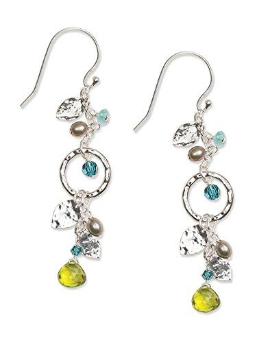 Holly Yashi Fairy Garden Drop Earrings, Swarovski
