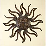 Metal Wall Decor Patio Sun, Garden, Indoor, Outdoor