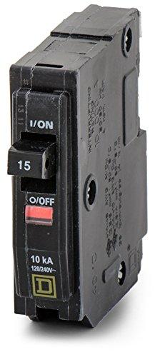 240v Breaker - SQU QO115 1P 15AMP 120/240V CIRCUIT BREAKER