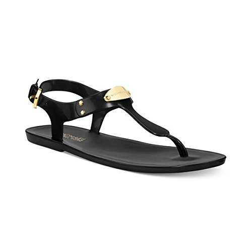 aa9bf88f7df4 Michael Kors Women s Plate Jelly Sandals Black Black Synthetic Fashion  Sandals - 4.5 UK  Buy Online at Low Prices in India - Amazon.in