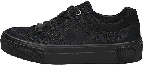 Donna Sneaker 00 Legero schwarz Nero Lima 00 1CBBwEq