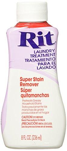 (Rit Dye Liquid Fabric Dye, 8-Ounce,  Super Stain Remover)
