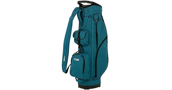 Amazon.com: prgr Golf Japón modelo estándar Caddy bolsa azul ...