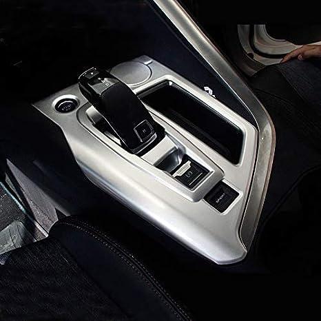 High Flying Für 3008 5008 Ii 2017 2020 Silber Matt Interieur Mittelkonsole Schalthebel Abs Kunststoff 1 Stück Ohne Grip Control Auto