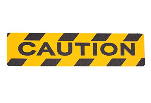 Non Slip Yellow Caution Adhesive Grit