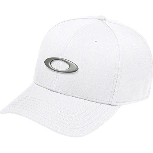 Oakley Men's Tincan Cap, White/Grey, - Oakley White