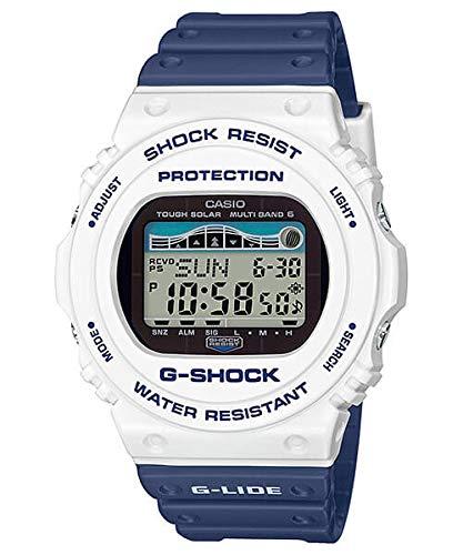 Casio GWX5700SS-7 G-Shock Men's Watch Blue 55.8mm Resin G-Lide (Casio G Shock Smartphone)
