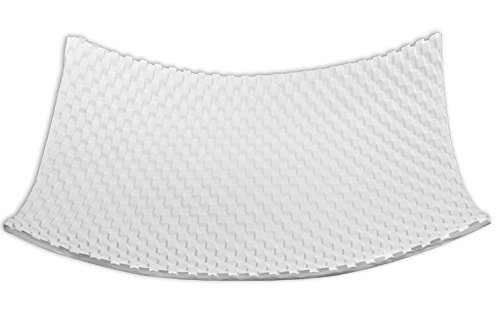 Molds Slumping - Large Woven Textured Sushi Plate - Fusible Glass Server Slumping Mold