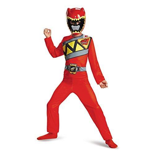 Ranger Dino Charge Basic Costume Child Size (7-8) (Power Rangers Gold Ranger Costume)