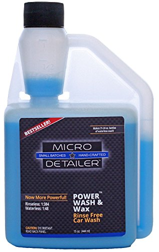 1384-ultra-hyper-concentrated-rinseless-car-wash-micro-detailer-rinse-free-power-wash-15-oz