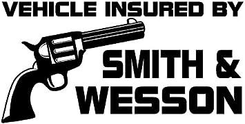 Car Truck Vinyl Decal Sticker Notebook CMI322 Smith and Wesson Guns Logo