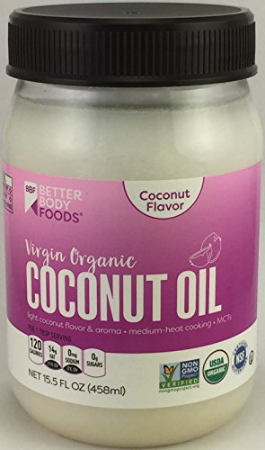 - BetterBody Foods - Organic Virgin Coconut Oil 15.5 Ounces