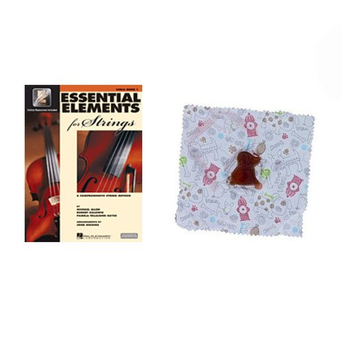 Essential Elements for Strings Viola Book 1 - with BONUS Dog Rosin VEEI-1-D