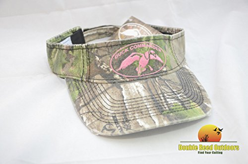 Duck Commander Womens Realtree AP Green Camo Visor