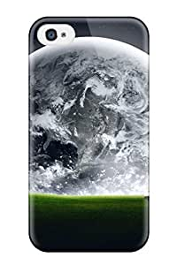 Awesome Planet In The Horizon Flip Case With Fashion Design For Iphone 4/4s