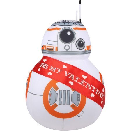 Valentine's Day Star Wars Greeter Robot Character