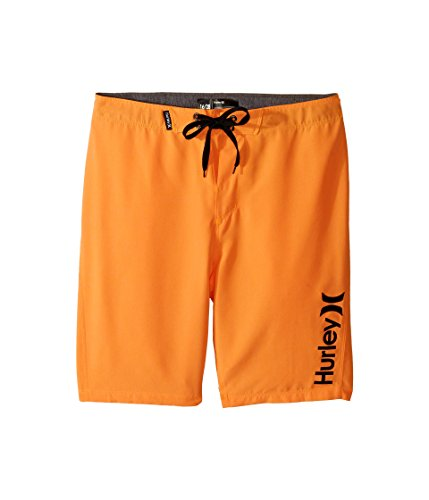 (Hurley Big Boys' One & Only Boardshort, Bright Citrus Heather one/Only, 14)