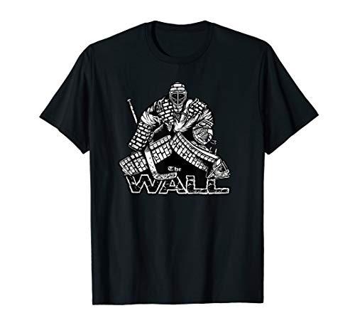 The Wall Hockey Goalie Pads Mask Blocker Glove Stick Save T-Shirt