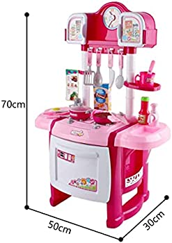 Deao My Little Chef Kitchen Playset Role Playing Game With Light And Sound Water Features And 18 Accessories Included Pink Kc Sp Buy Online At Best Price In Uae Amazon Ae