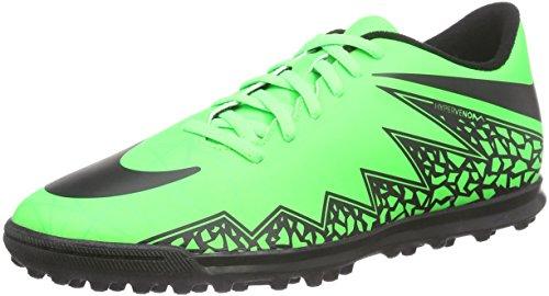 Nike Hypervenom Phade II TF, Scarpe da Calcio Uomo Verde (Green Strike/Black/Black)